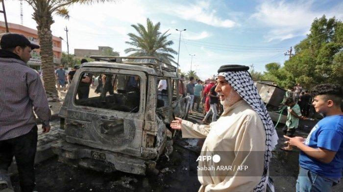 4 Tewas dan 17 Lainnya Luka-luka Akibat Ledakan Mematikan di Kota Sadr Irak