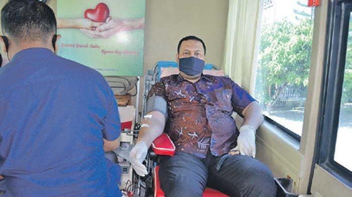 Bantu Penyediaan Darah Selama Pandemi, Cabdisdik Sumbang Darah 69 Kantong