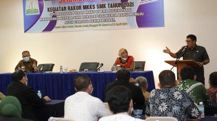 Kadisdik Aceh: Lulusan SMK Harus Fokus Menjadi Tenaga Kerja Terampil