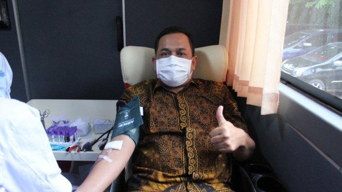 PMI Banda Aceh Kumpulkan Darah 36 Kantong dari Dinas Kesehatan Aceh dan DSI