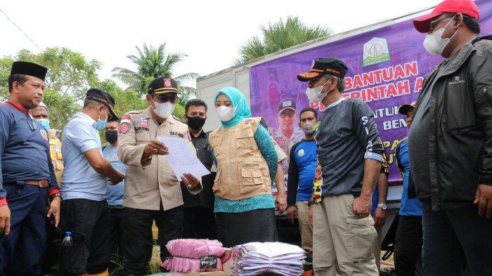 Dinsos Tambah Stok Logistik di Daerah Rawan Bencana