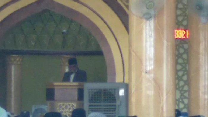 Kakankemenag Aceh Selatan Khatib Idul Fitri 1442 Hijriah di Masjid Agung Istiqamah Tapaktuan