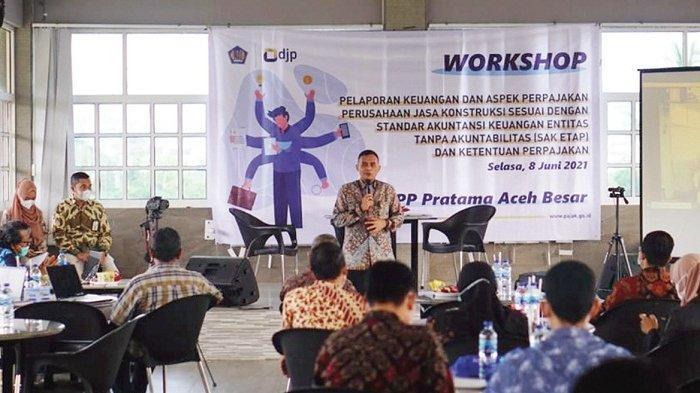 KPP Pratama Aceh Besar Gelar Edukasi Pelaporan Keuangan