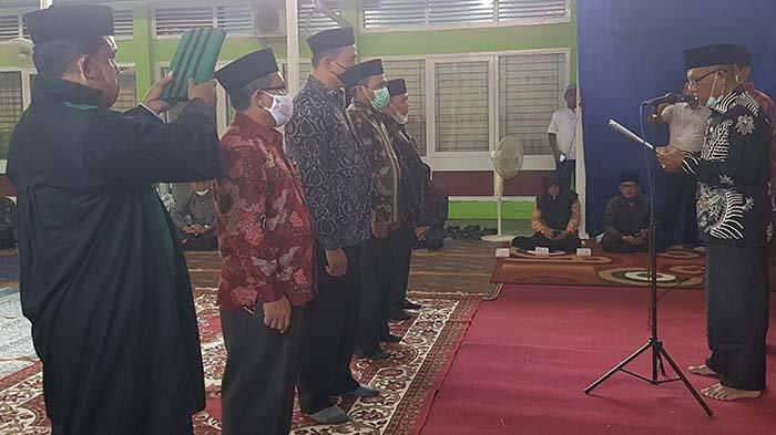 Empat Kepala KUA Kecamatan Dilantik, Ini Pesan Kakankemenag Kota Langsa