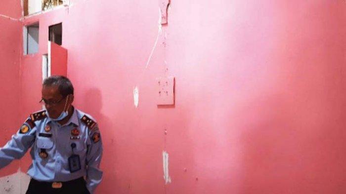 Satu Jam Kunjungan Wartawan, Ada Ruang Bercat Pink di Lapas Lhokseumawe