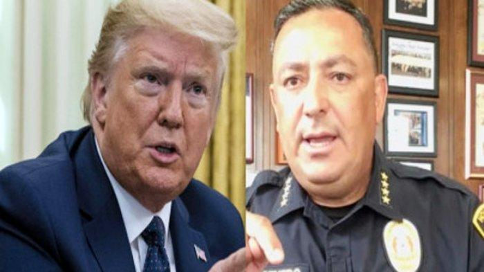 Kepala Polisi Houston: Tutup Mulut Mu Donald Trump