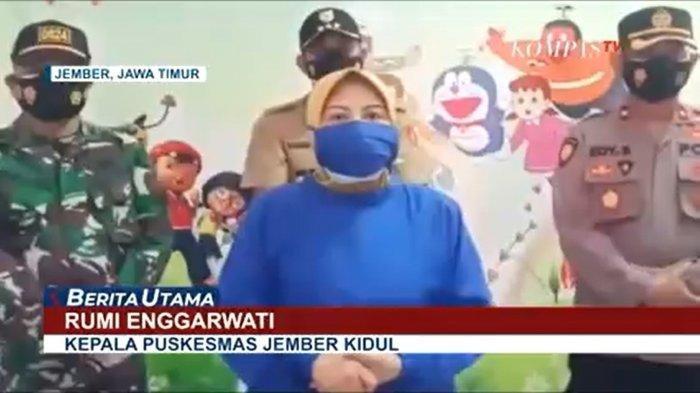 Kepala Puskesmas Jember Kidul, Rumi Enggarwati membantah adanya penelantaran jenazah pasien covid-19 di tepi jalan seperti yang viral di media sosial.