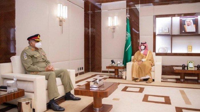Kepala Staf Militer Pakistan Temui Putra Mahkota Arab Saudi, Bahas Hubungan Bilateral