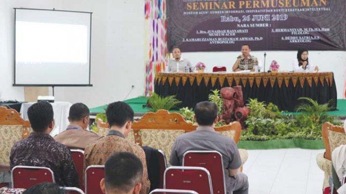 Seminar Permuseuman Sebaga Sumber Informasi Inspiratif dan Bukti Kekayaan Intelektual