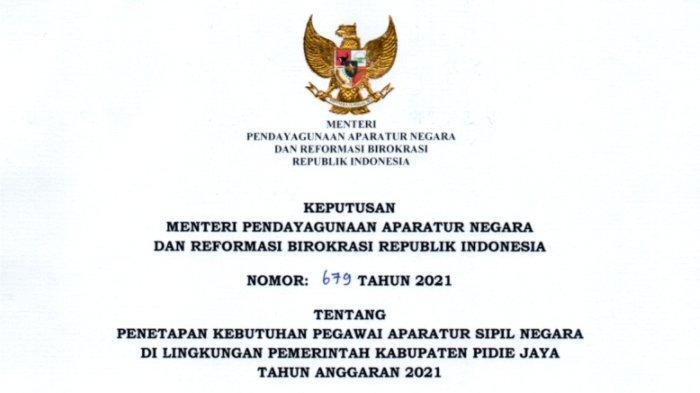 Rincian Formasi CPNS Tenaga Kesehatan Pemkab Pidie Jaya, Lulusan D3 Keperawatan Banyak Dibutuhkan