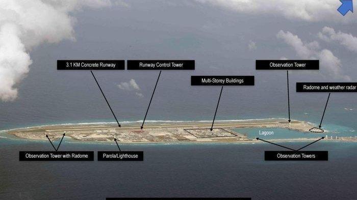 Aktivitas Baru di Laut China Selatan, Ilmuan Temukan Waduk Air Tawar di Pulau Buatan Beijing