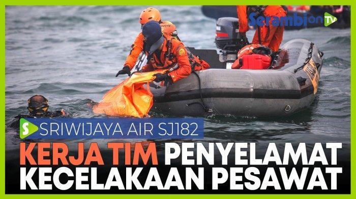 Kisah Tim Evakuasi Mencari Pesawat Sriwijaya Air; Hadapi Cuaca Ekstrem Hingga Tidur di Lantai Kapal