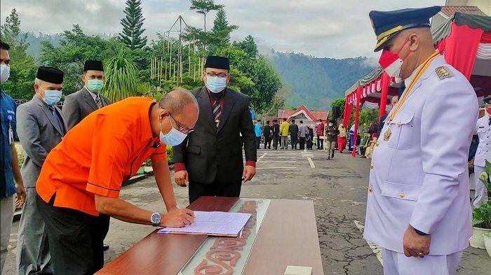 Bupati Aceh Tengah Luncurkan Empat Inovasi Layanan Kependudukan