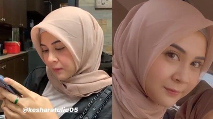 Pamer USG Dikira Hamil Luar Nikah, Kesha Ratuliu Mohon Doa untuk Operasi Pengangkatan Tumor Payudara