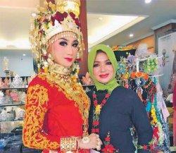 Harpi Melati Aceh Juara Nasional Rias Pengantin