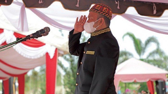 Peringatan HUT RI ke-76 di Aceh Besar Khidmat