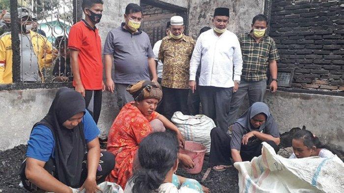 Golkar Aceh Tenggara Bantu Korban Kebakaran