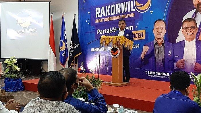 NasDem Minta Kader Persiapkan Diri, Jelang Pilkada Aceh