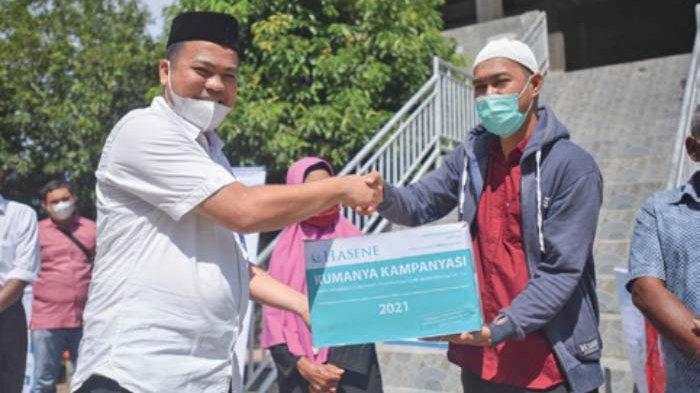 Kafalah Indonesia dan Alumni Modal Bangsa Salurkan Paket Sembako untuk Warga