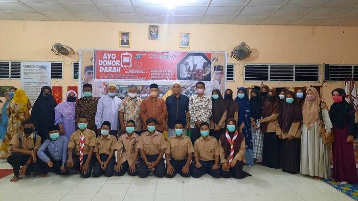 32 Peserta Kontingen Pramuka Langsa Dilepas ke MTR XX Tingkat Provinsi Aceh di Singkil