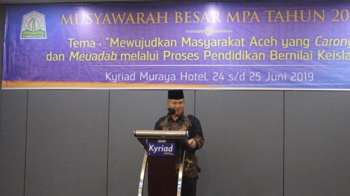 Prof Abdi A Wahab Pimpin MPA