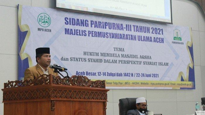 MPU Aceh Keluarkan Fatwa Terkait Palestina