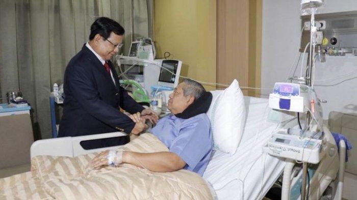 Kondisi Kesehatan SBY Membaik, Sudah Keluar Rumah Sakit dan Lanjutkan Rawat Jalan