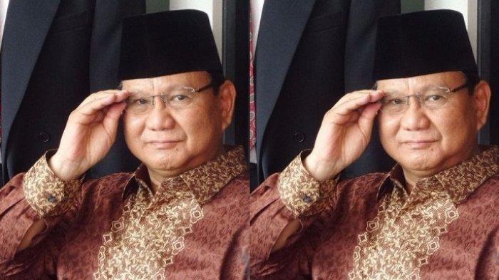 Beredar Foto Prabowo Makan Bersama Kucing, Gerindra Beri Klarifikasi