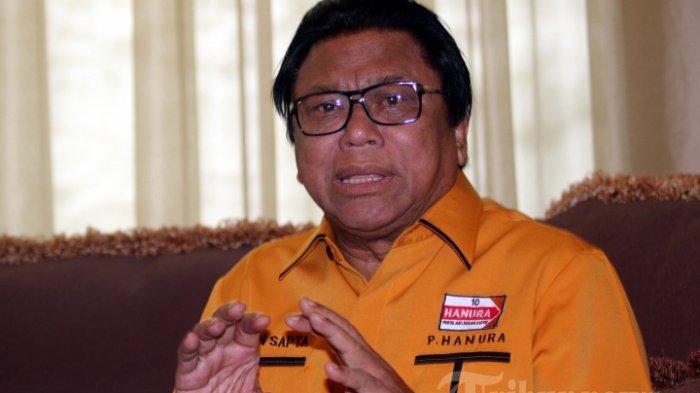 Ketua Umum Hanura OSO Gugat Keputusan KPU, Karena Dicoret dari Daftar Calon Tetap Caleg DPD