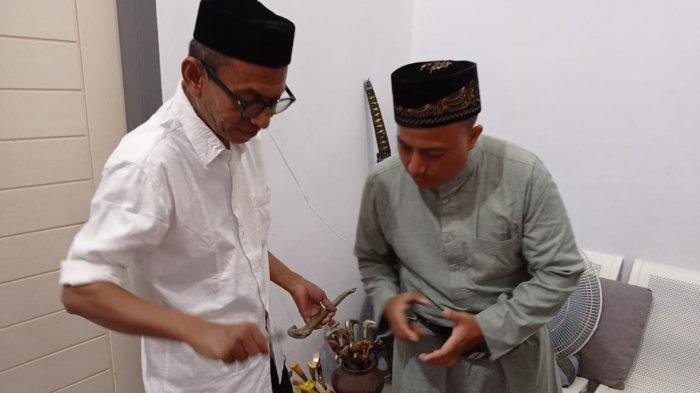 Keturunan Sultan Siak Riau Kunjungi Rumah Cek Midi di Banda Aceh, Telusuri Sejarah Dengan Sepeda