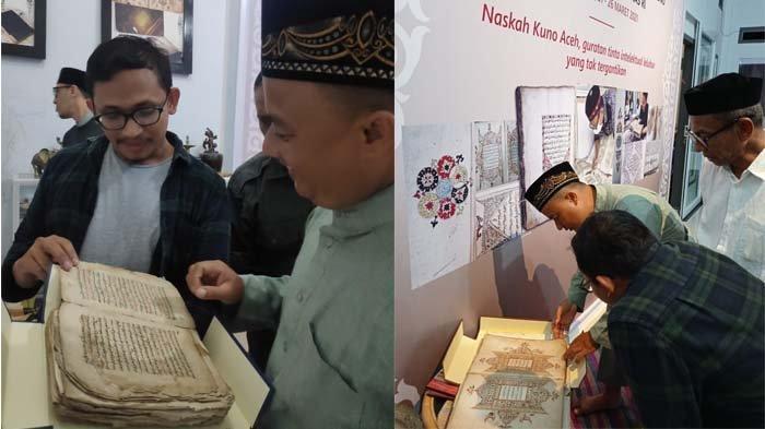 Keturunan ke V Sultan Siak Riau, Syarif Kasim II, Tengku Habibi (40) mengunjungi dan bersilaturahmi kediaman Tarmizi Abdul Hamid di Ie Masen Kayee Adang Banda Aceh, Senin (26/4/2021)