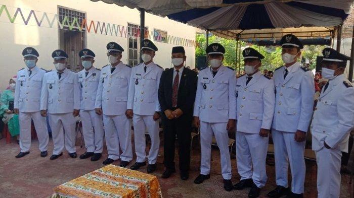 9 Keuchik di Kecamatan Tapaktuan Resmi Dilantik