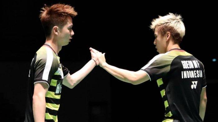 China Open 2018, Marcus/Kevin Lolos ke Babak Kedua Usai Menangi Perang Saudara