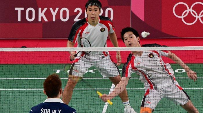 Hasil Bulutangkis Olimpiade Tokyo – Harapan Marcus/Kevin & Gregoria Pupus, The Daddies ke Semifinal
