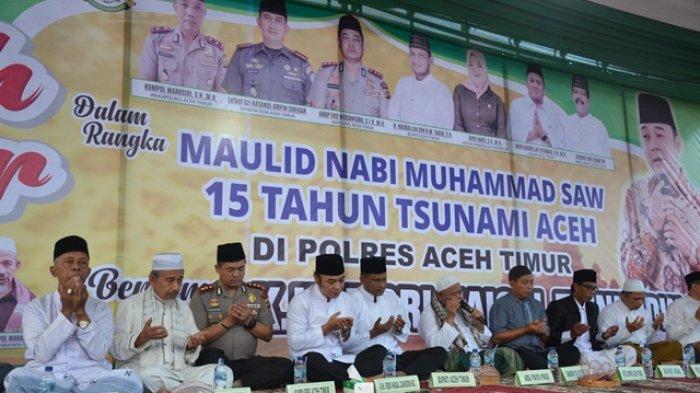 Isi Tausiyah Pada Tabligh Akbar Awal Tahun di Aceh Timur, Ini Pesan KH Fiqri Haiqal Zainuddin MZ
