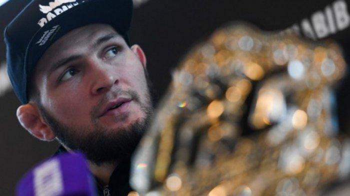 Bersiap-siap Bertemu Bos UFC, Khabib Gembleng Pasukan Jagoan MMA