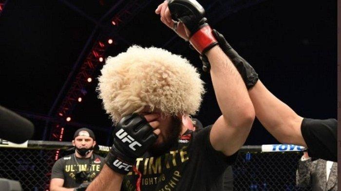 Legenda UFC Georges St-Pierre Ternyata Pernah Mengajak Khabib Bertarung, Ini Jawaban The Eagle