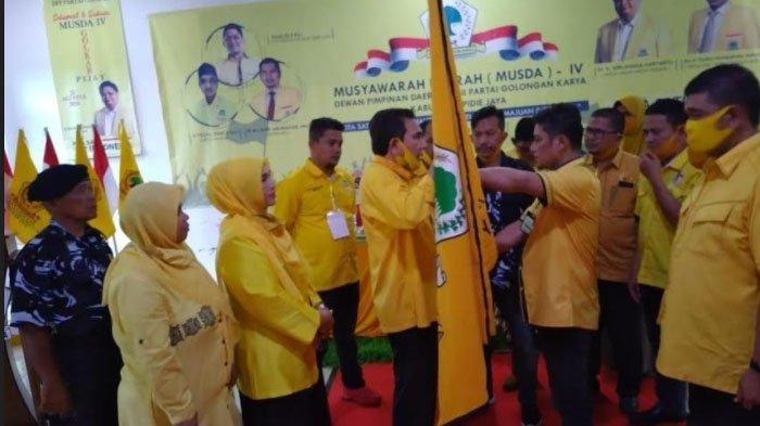 Terpilih Secara Aklamasi, Khalid Pimpin Golkar Pidie Jaya