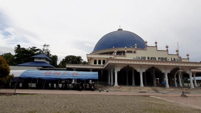 Masjid Raya Labui Pidie, Pernah Jadi Benteng Pertahanan Melawan Penjajahan Belanda