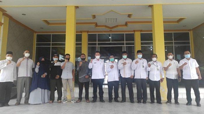 Sekda Haili Yoga Lepas Khattil Quran Bener Meriah Belajar ke Pondok Pesantren di Bogor