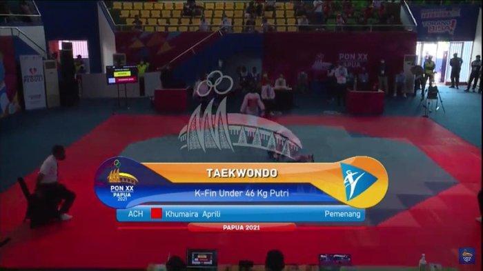 Menyerah di Tangan Atlet Pelatnas, Taekwondoin Aceh Khumaira Terhenti