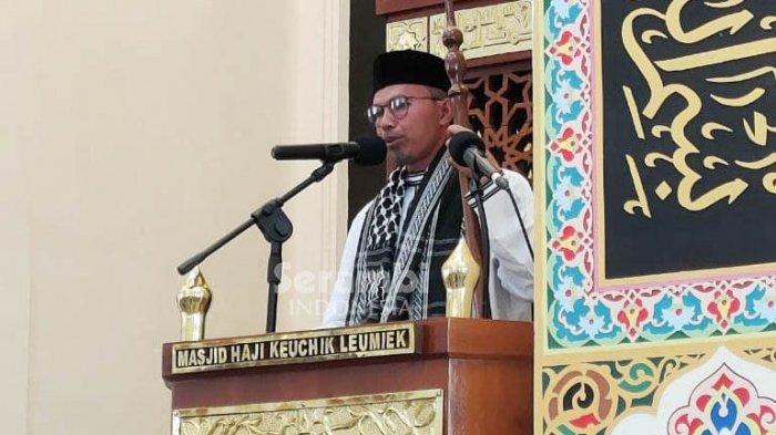 Khutbah Jumat di Masjid HKL Tgk Asnawi Ulee Titi: Tiap Tetes Darah Hewan Kurban Menjadi Malaikat