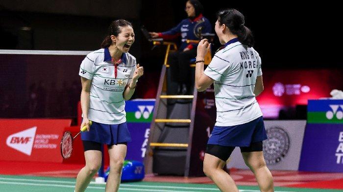 Hasil Semifinal BWF World Tour Finals 2020: Korea Pastikan Gelar Juara di Ganda Putri