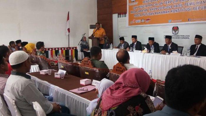 Ini Nama-nama 25 Anggota DPRK Aceh Singkil Hasil Pemilu 2019, Golkar Kuasai Kursi Terbanyak