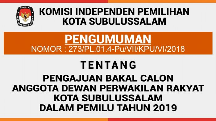 Di Subulussalam, Kader PSI Mendaftar Bacaleg di Dua Partai Berbeda