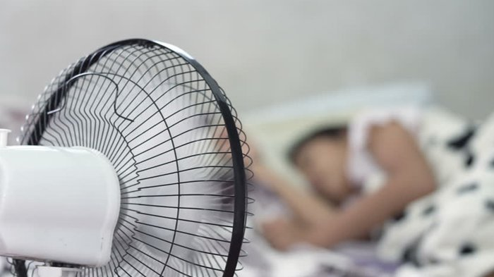 Kisah Pria Thailand Mendadak Meninggal Saat Tidur Pakai Kipas Angin, Ini 7 Bahayanya