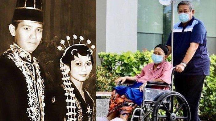 Ani Yudhoyono Meninggal Dunia, Begini Kisah Perjalanan Cintanya Bersama SBY