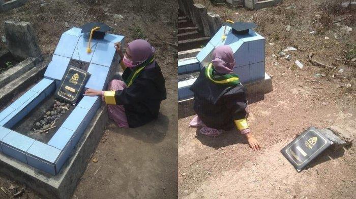 Kisah Nurwahyuni, Gadis Yatim Piatu Berhasil Raih Sarjana, Sempat Putus Asa Terkendala Biaya Kuliah