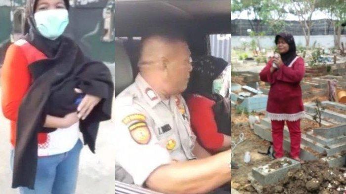 Viral Nenek Gendong Jenazah Cucu Hingga Ditolong Polisi, Kini Bingung Tak Ada Uang Bayar Pemakaman