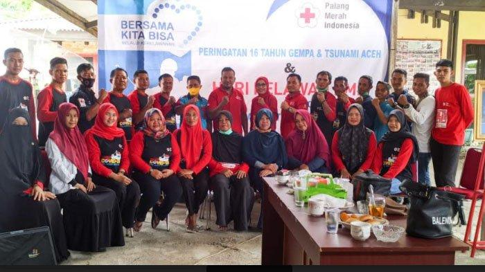 16 Tahun Tsunami Aceh, PMI Aceh Selatan Peringati Hari Relawan
